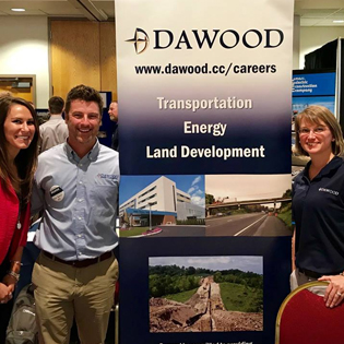 Dawood Attends University of Pittsburgh at Johnstown's Engineering Employer Day!