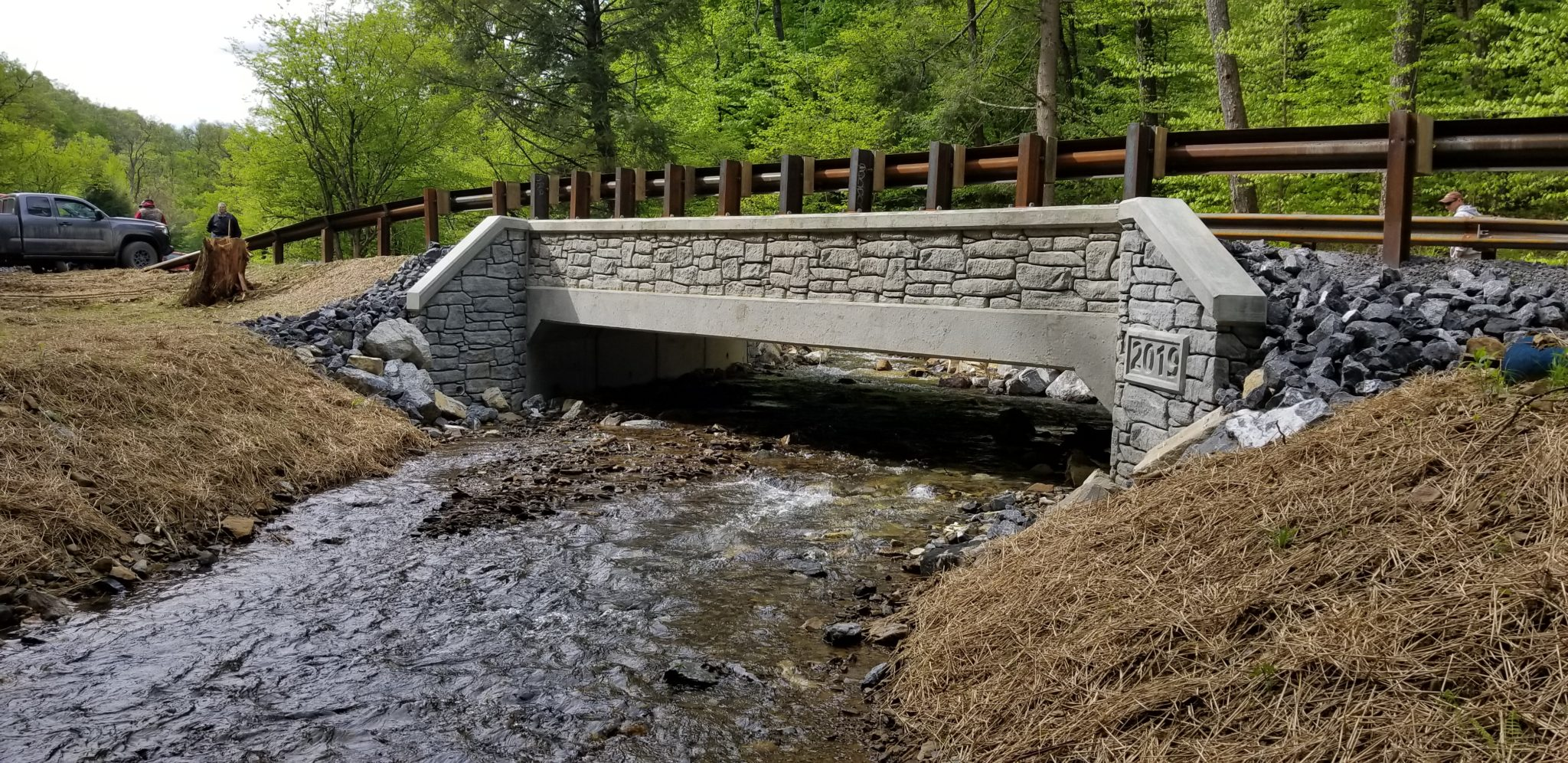 Design Build of Six Water Crossings in Three PA State Forests
